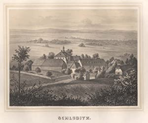 Ansicht des Rittergutes.: Schloditz/Vogtl.: