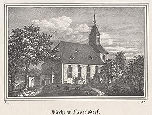 TA., Kirche zu .: Kesselsdorf/b. Dresden: