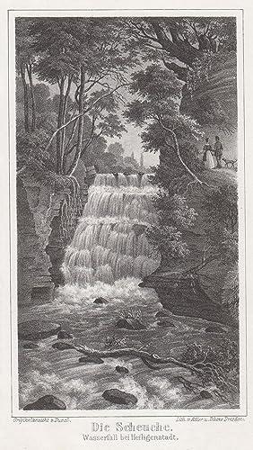 """Wasserfall """"Die Scheuche ."""".: Heiligenstadt/Eichsfeld: Umgebung:"""