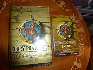 Snuff:MINT EXCLUSIVE GOLD DOUBLE SIGNED DOUBLE STAMPED: Pratchett, Terry