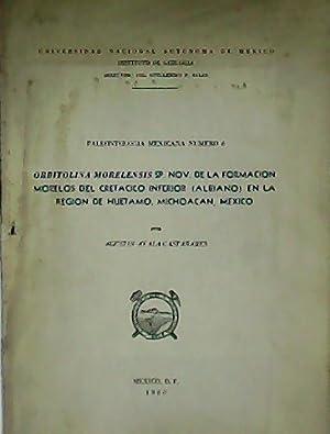 Paleontología mexicana. Nº 6. Orbitolina Morelensis sp.: AYALA-CASTAÑARES, Agustín.-