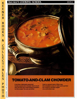 McCall's Cooking School Recipe Card: Soups 17 - Rhode Island Clam Chowder (Replacement McCall's R...