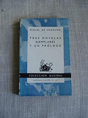 Tres novelas ejemplares y un prólogo: Unamuno, Miguel de