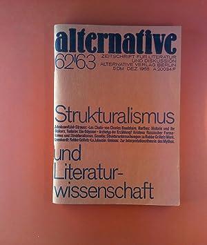 Alternative. Zeitschrift für Literatur und Diskussion. HEFT 62/63 - 11. Jahrgang 1968. ...