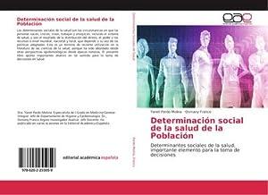 Determinación social de la salud de la Población: Yanet Pardo Molina