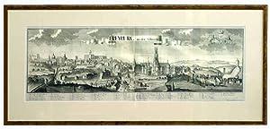 Freyburg in der Schweitz. (Vue panoramique de: WOLFF, Jeremias (éditeur)