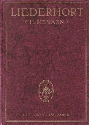 Liederhort 122. Berühmte Lieder für eine Singstimme mit Pianoforte.,Ausgabe für Mezzosopran oder ...