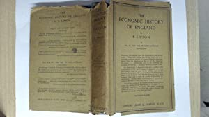 The Economic History of England: Lipson, E