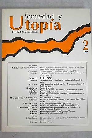 Sociedad y Utopía, revista de Ciencias Sociales,
