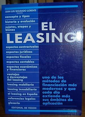 EL LEASING: SEGURADO LLORENTE, Juan