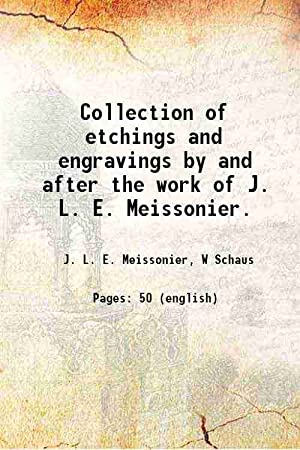 Collection of etchings and engravings by and: J. L. E.