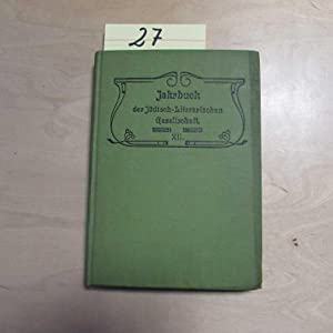 Jahrbuch der Jüdisch-Literarischen Gesellschaft - XII. Jahrgang: Lauer, Ch., M. Elias B. Cohn u. a.: