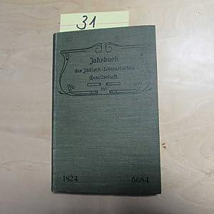 Jahrbuch der Jüdisch-Literarischen Gesellschaft - XVI. Jahrgang (1924, Nr. 5684): Lauer, Ch., ...