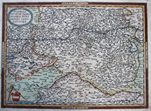 "Kupferstich- Karte, n. W. Lazius bei Ortelius, ""Austriae Ducatus Chorographia, Wolfgango Lazio ..."