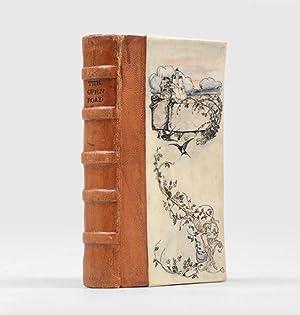 Original illustrated vellum binding:] The Open Road.: RACKHAM, Arthur (illus.);