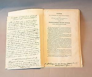 Grammaire égyptienne, ou Principes généraux de l'écriture sacrée égyptienne appliquée à la ...
