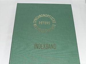 Synchronoptische Weltgeschichte. Indexband: Peters, Arno: