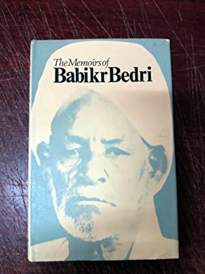 THE MEMOIRS OF BABIKR BEDRI