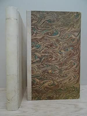 Um 1970. Ca. 200 weiße Bll. 4°.: Gästebuch in Pergament.