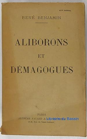 Aliborons et Démagogues: René Benjamin