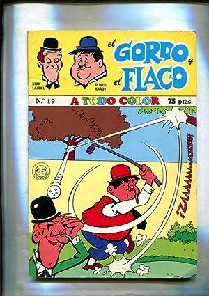 Imagen del vendedor de El Gordo y El Flaco, edicion de 75 pts numero 19: Vamos al boxeo a la venta por El Boletin