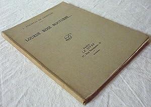 Lourde rose nocturne: POURTAL de LADEVÈZE, Jean