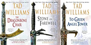 OSTEN ARD Fantasy Series by Tad Williams LARGE TRADE PAPERBACK Collection 1-3: Williams, Tad