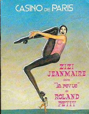 Zizi Jeanmaire dans la revue de Roland: Casino de Paris