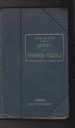 Curso de economía política: GIDE, Charles