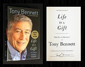 Life Is a Gift (Signed 1st Ed): Bennett, Tony