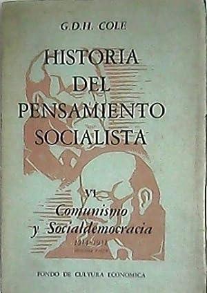Historia del pensamiento socialista. Vol. VI: Comunismo: COLE, G. D.