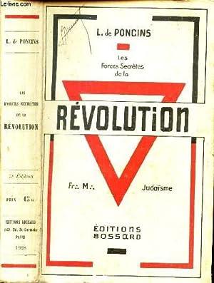 Image du vendeur pour LES FORCES SECRETES DE LA REVOLUTION mis en vente par Le-Livre