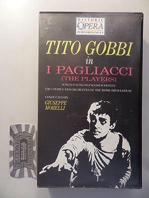 Tito Gobbi in I Pagliacci (The Players): Gobbi, Tito, Galliano