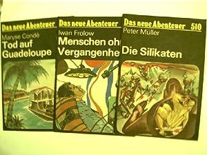 32x Das neue Abenteuer - DDR-Abenteuer-Heftreihe (Heftnr.: London, Jack, Mark
