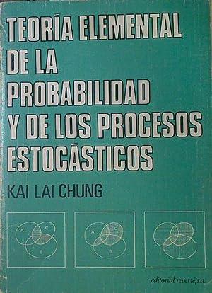 Teoría elemental de la Probablidad y de: Chung, Kai Lai