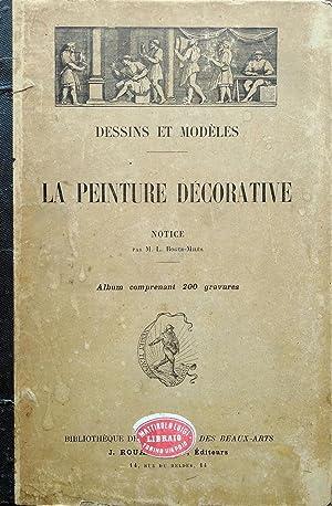 La peinture décorative., Dessins et Modèles.: ROGER - MILES