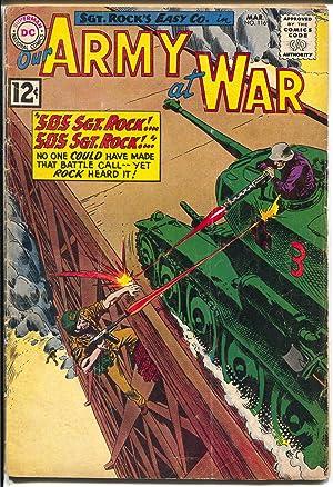 Our Army At War-116 1962-DC-Sgt. Rock-Joe Kubert-G/VG
