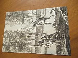 "Roman Gardeners, From The Georgics In ""The: Hollar, Wenceslas [Illustration"