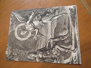 "Iris And Turnus, From ""The Works Of: Hollar, Wenceslas [Illustration"