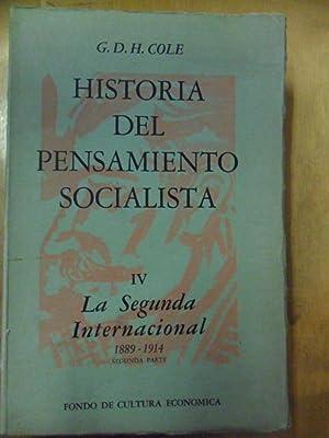 Historia del pensamiento socialista. Tomo IV:: La: COLE, G.D.H.