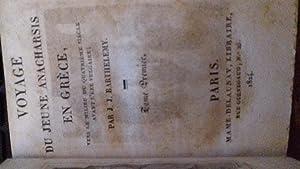 voyage du jeune anacharsis en grece: barthelemy