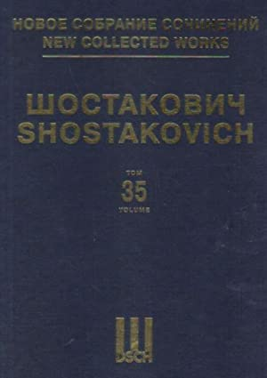 New collected works of Dmitri Shostakovich. Vol. 35. Festive Overture. Op. 96. Overture on Russia...