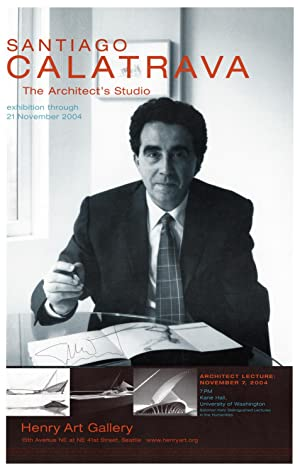 Santiago Calatrava: The Architect's Studio exhibition through 21 November 2004