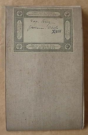 Une carte de Suisse; Canton du Valais; Région des grisons Brieg, Airolo,: G. H. Dufour; H. ...
