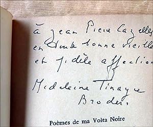 Poèmes de Ma Volta Noire.: Tinayre Broders.