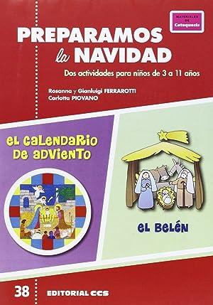 PREPARAMOS LA NAVIDAD Dos actividades para niños: Ferrarotti, Rosanna/