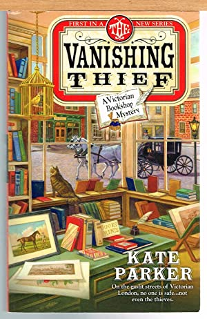VANISHING THIEF, Victorian Bookshop Mystery #1