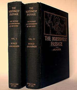 """Roald Amundsen's """"The North West passage""""; being: AMUNDSEN, Roald (1872-1928)."""