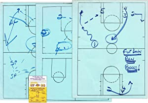 Original In Game Manuscript Play Call Sheets; From the NBA Finals of the 1988 Playoffs: [LOS ...