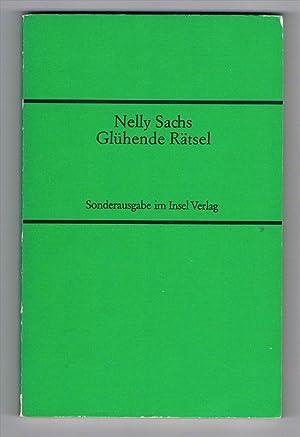 Glühende Rätsel. Gedichte. Erweiterte Ausgabe.: Sachs, Nelly